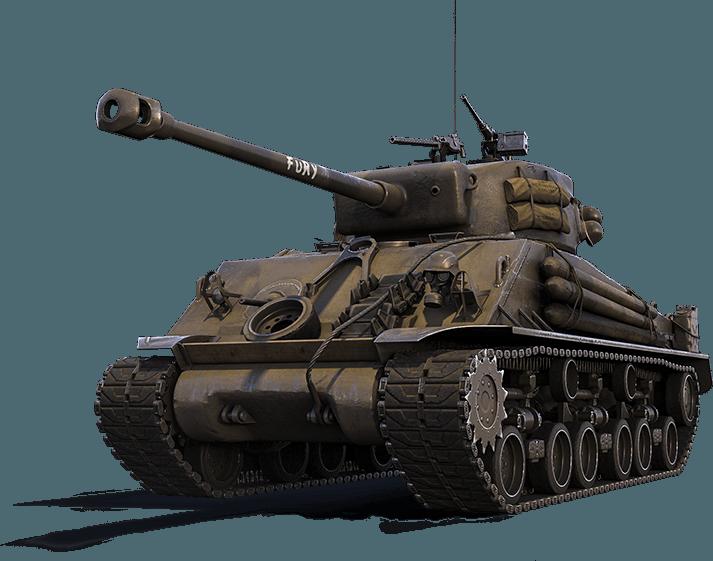 world of tanks fury garage mod
