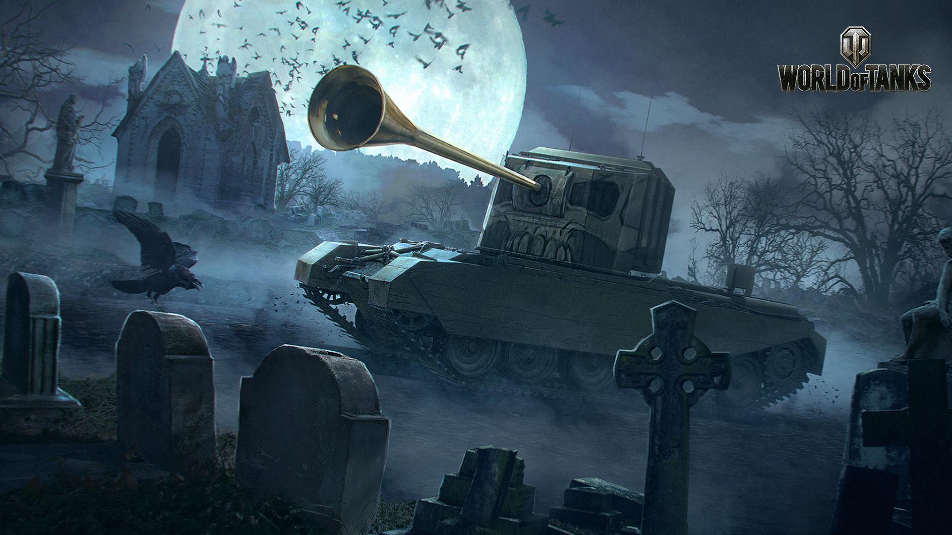 Halloween Special 2018: Wallpaper of Doom! | Tanks: World of Tanks media, best videos and artwork